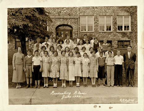 Willard School Graduating Class 1934