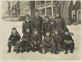 Rev Howard Anderson - Feb 1933 Puritan Lane, Stamford CT