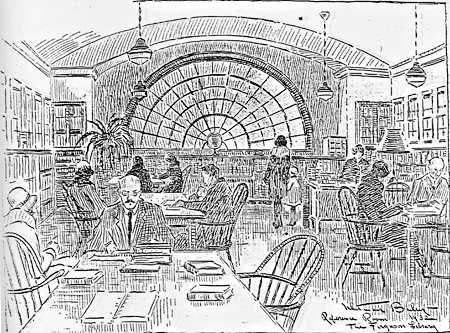 Reference Room, Ferguson Library, 1932