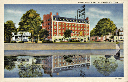 The Roger Smith Hotel stood on Washington Boulevard
