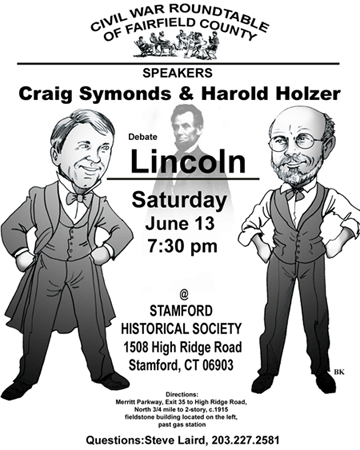 Flyer, June 13 Civil War Roundtable Meeting