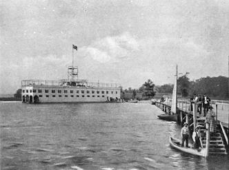 Enniston bathing pavilion, circa 1892
