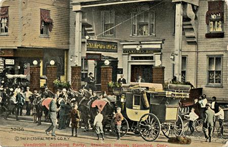Stamford House Hotel, postcard