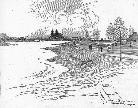 Halloween Park and Bathing Pavilion, 1924