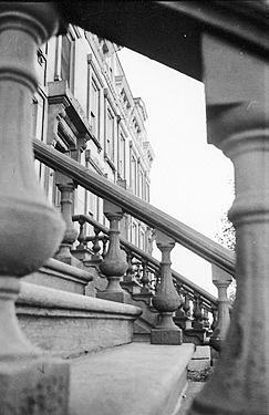 brownstone detail