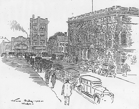 William Bailey Sketch, June 13, 1925