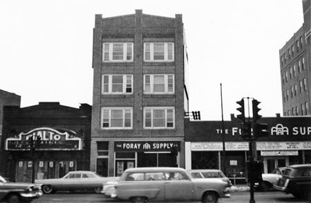 Main Street at Suburban Avenue, 1967
