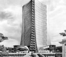 Original design of Landmark building